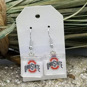 Ohio State Earrings Ohio State Buckeyes Earrings